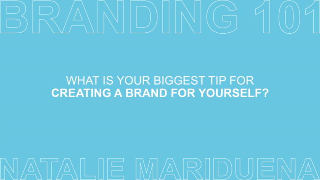 Branding 101 with Natalie Mariduena Ep 6 of 7