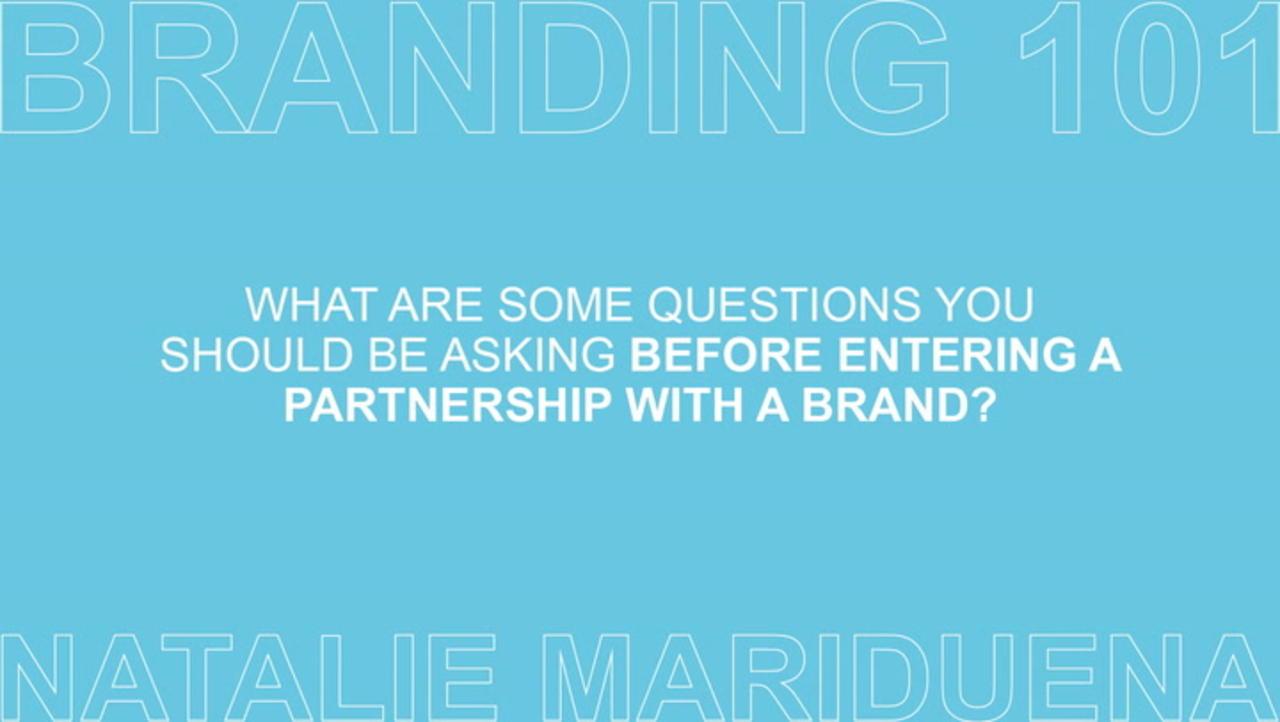 Branding 101 with Natalie Mariduena Ep 4 of 7