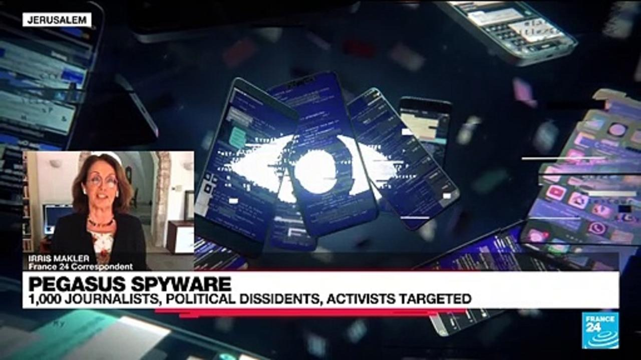 1,000 journalists,politicians and activists targeted by Pegasus spyware