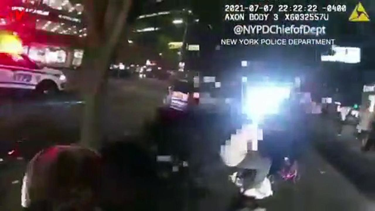NYPD Officer's Quick Thinking Using Potato Chip Bag Saves Stabbing Victim's Life