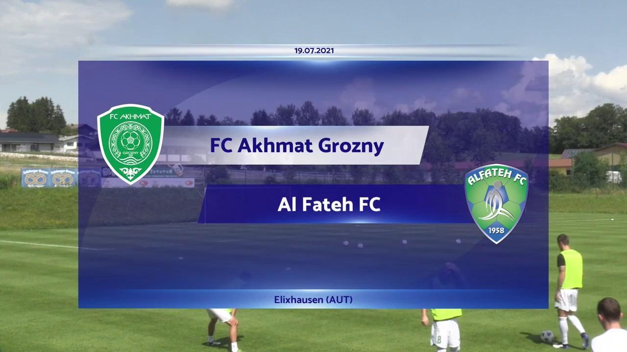 RELIVE: FC Akhmat Grozny v Al-Fateh