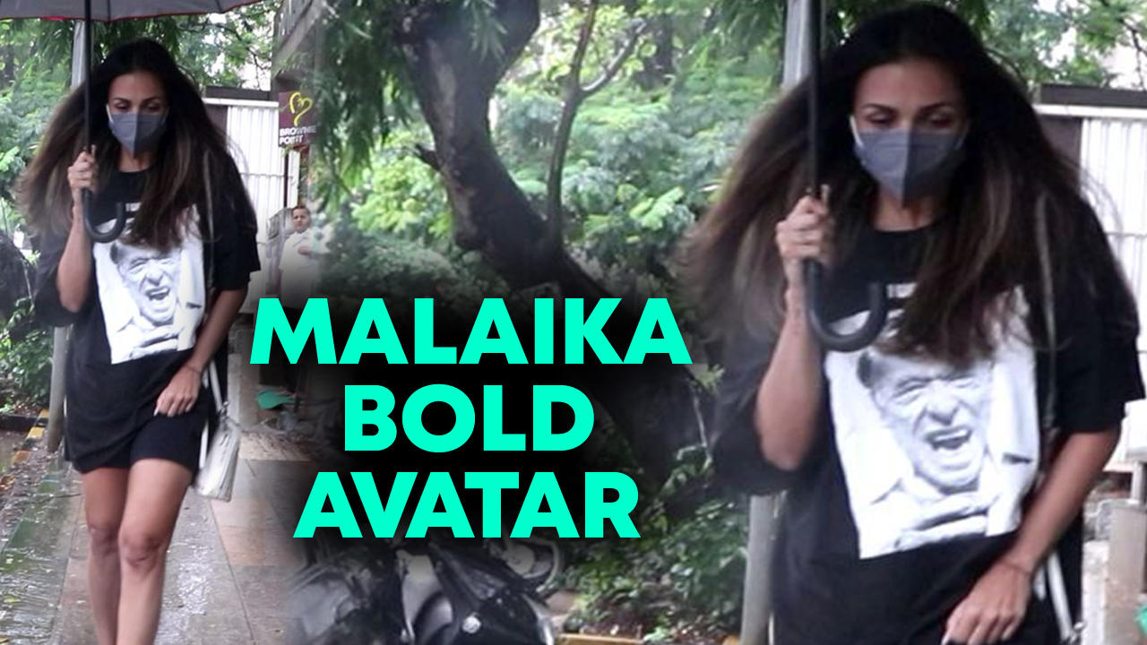 Malaika Arora Snapped At Salon In Bandra