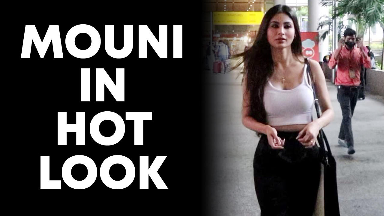 Mouni Roy Spotted At Airport