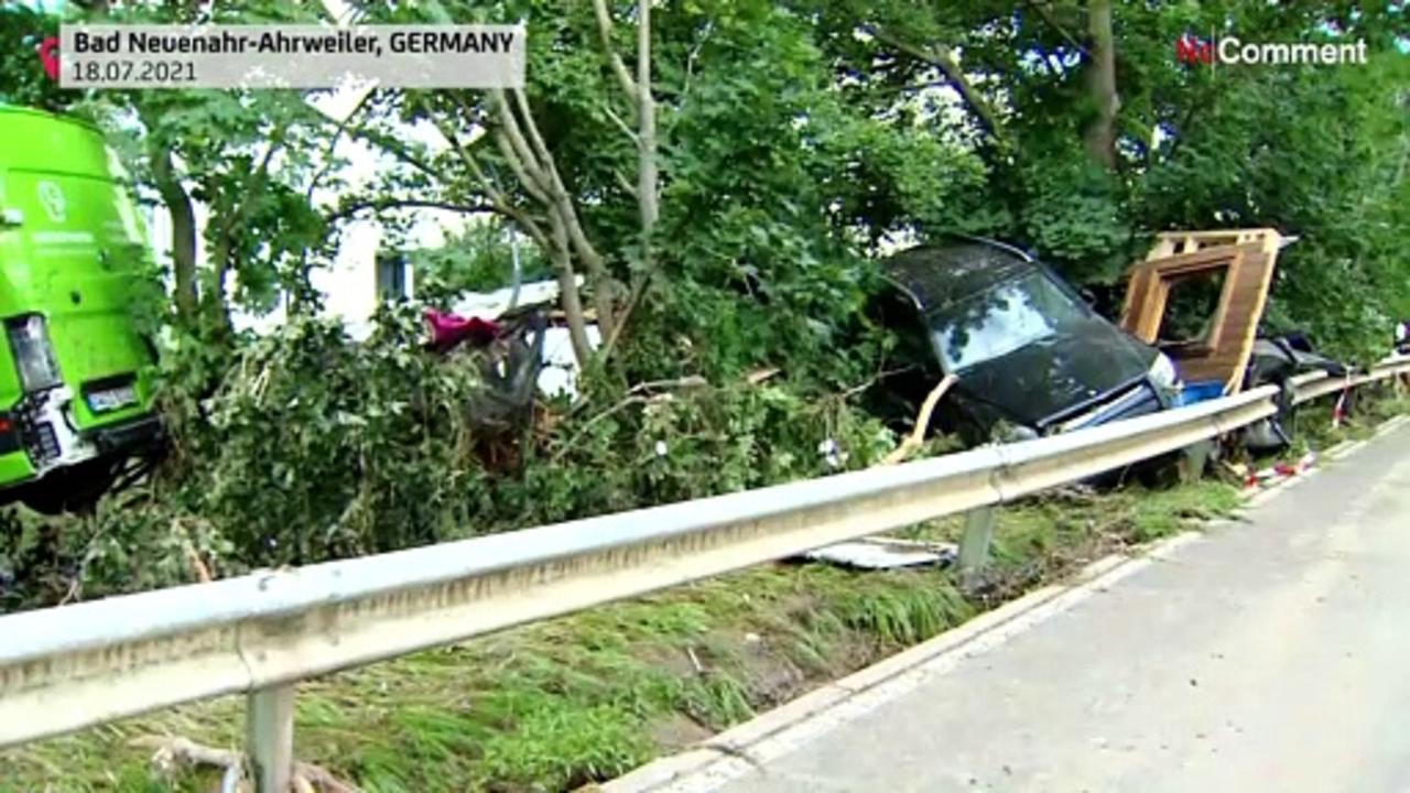Germany floods damage