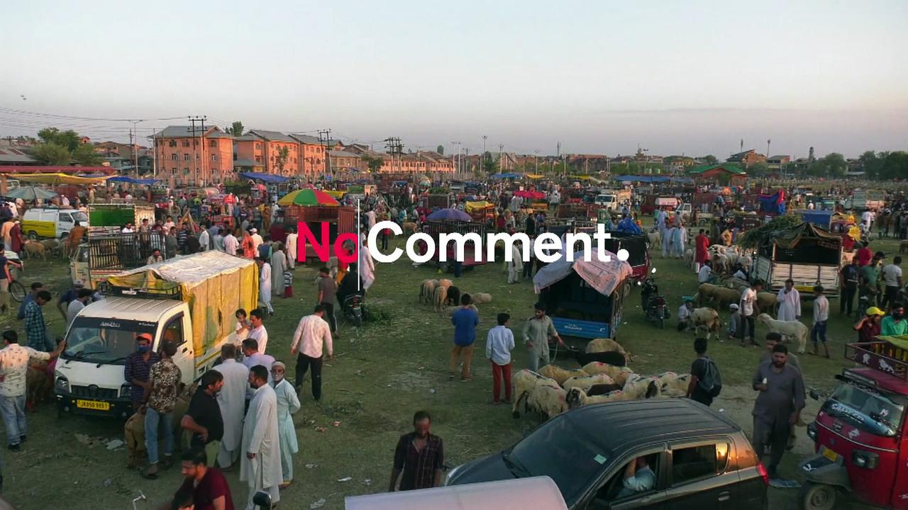 India Kashmir Eid Preps