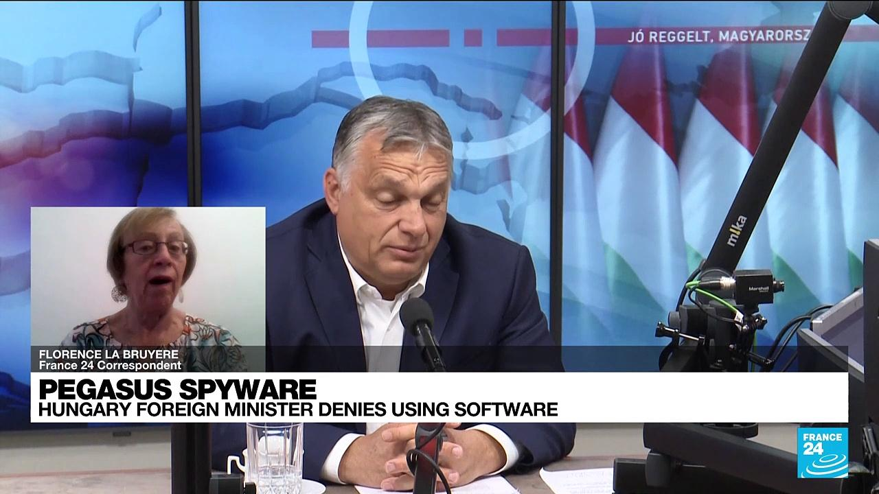 Hungary foreign minister denies using Pegasus spyware