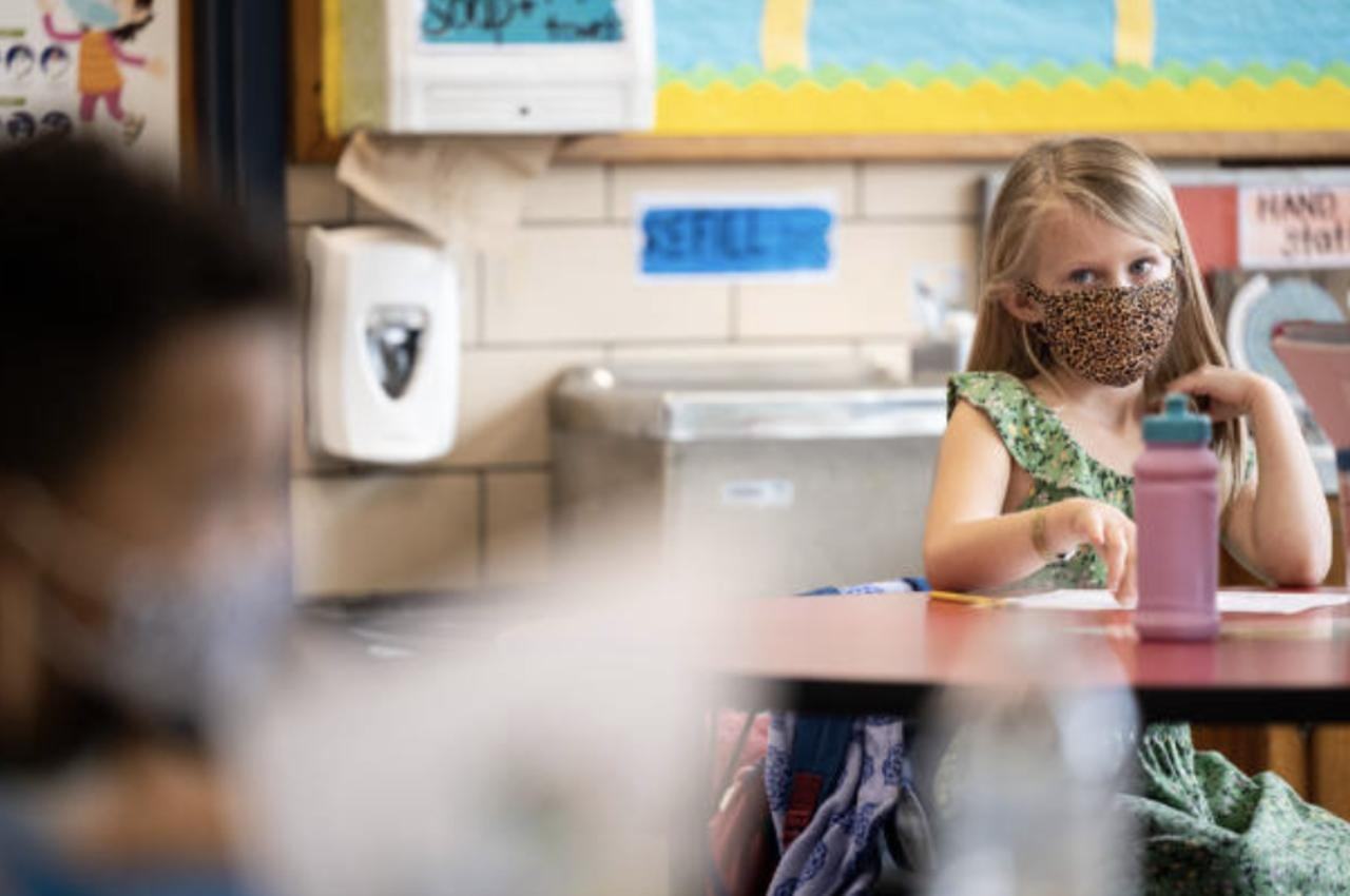 American Academy of Pediatrics Recommends Masks in Schools for Everyone Over 2