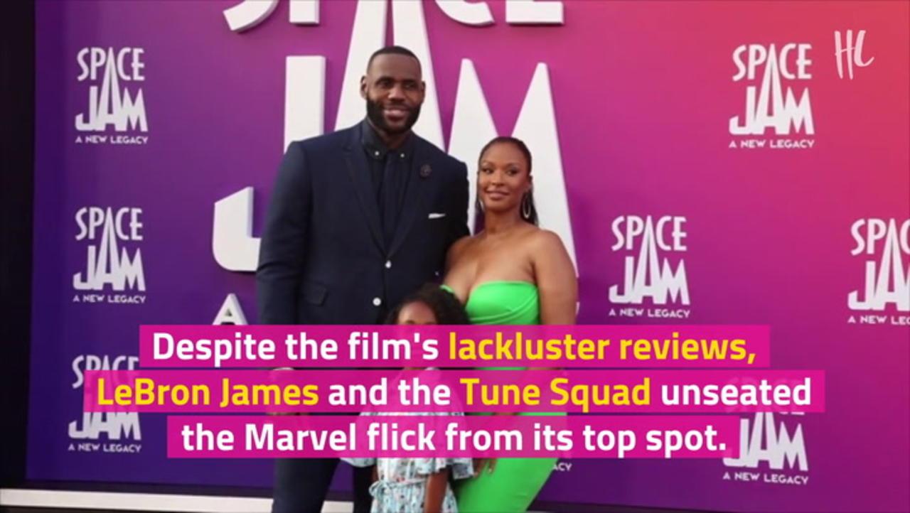'Space Jam' Steals No. 1 Box Office Spot From 'Black Widow'