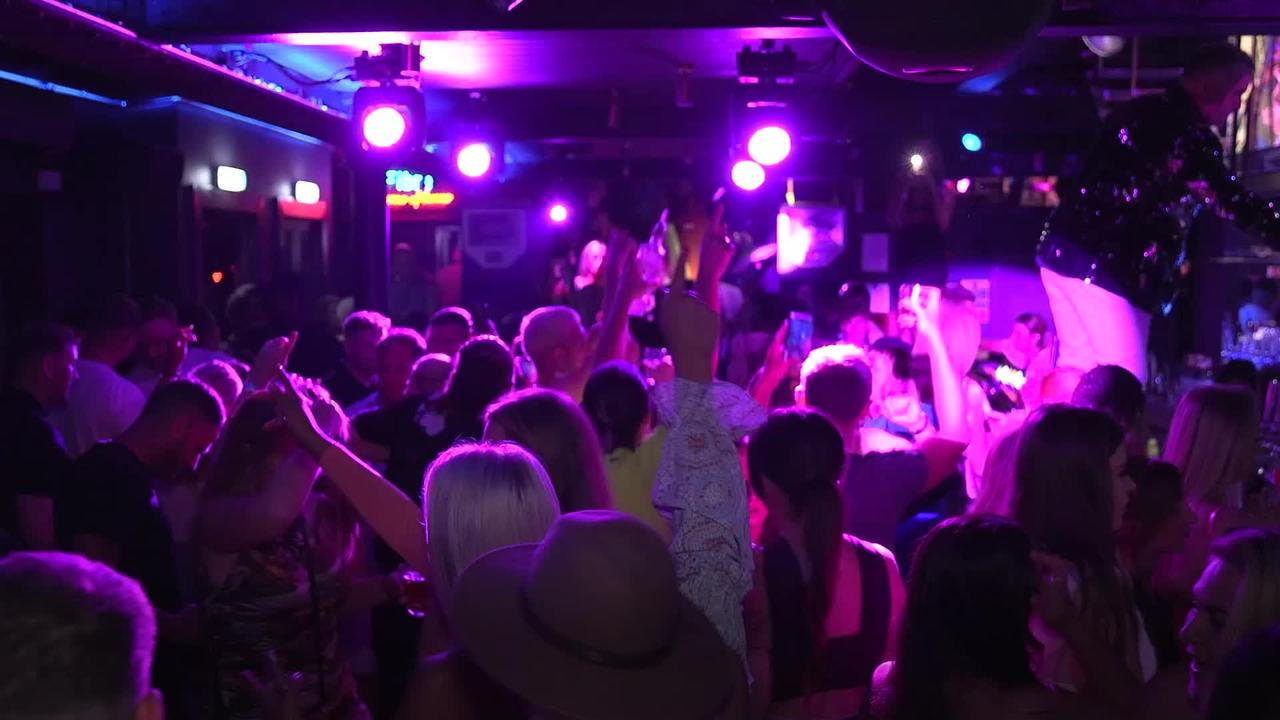 Nightclubs open their doors at midnight as excited dancers return