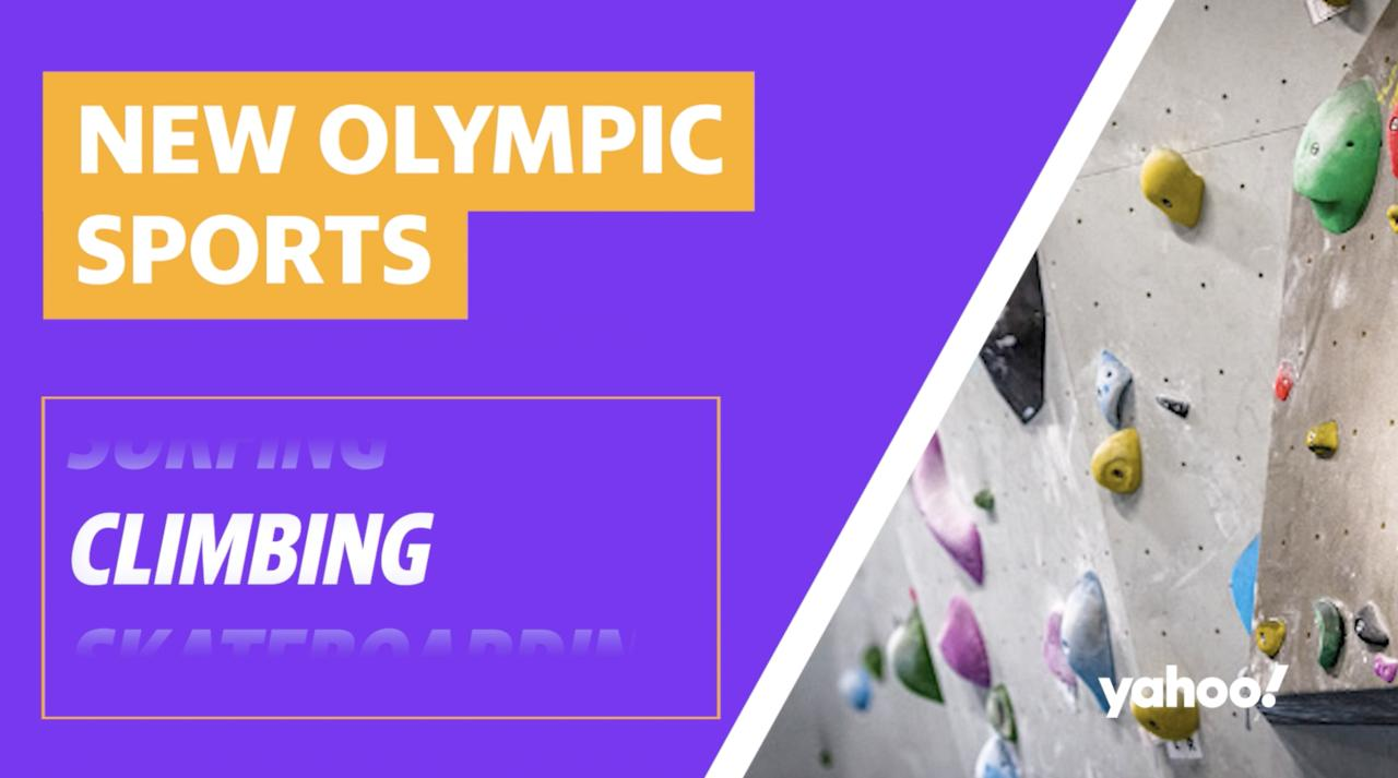 New Olympic sports: What you need to know about climbing
