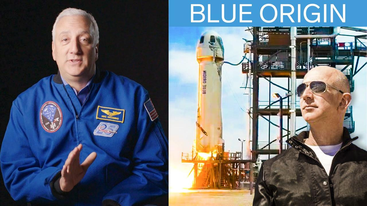 Former NASA Astronaut Explains Jeff Bezos's Space Flight