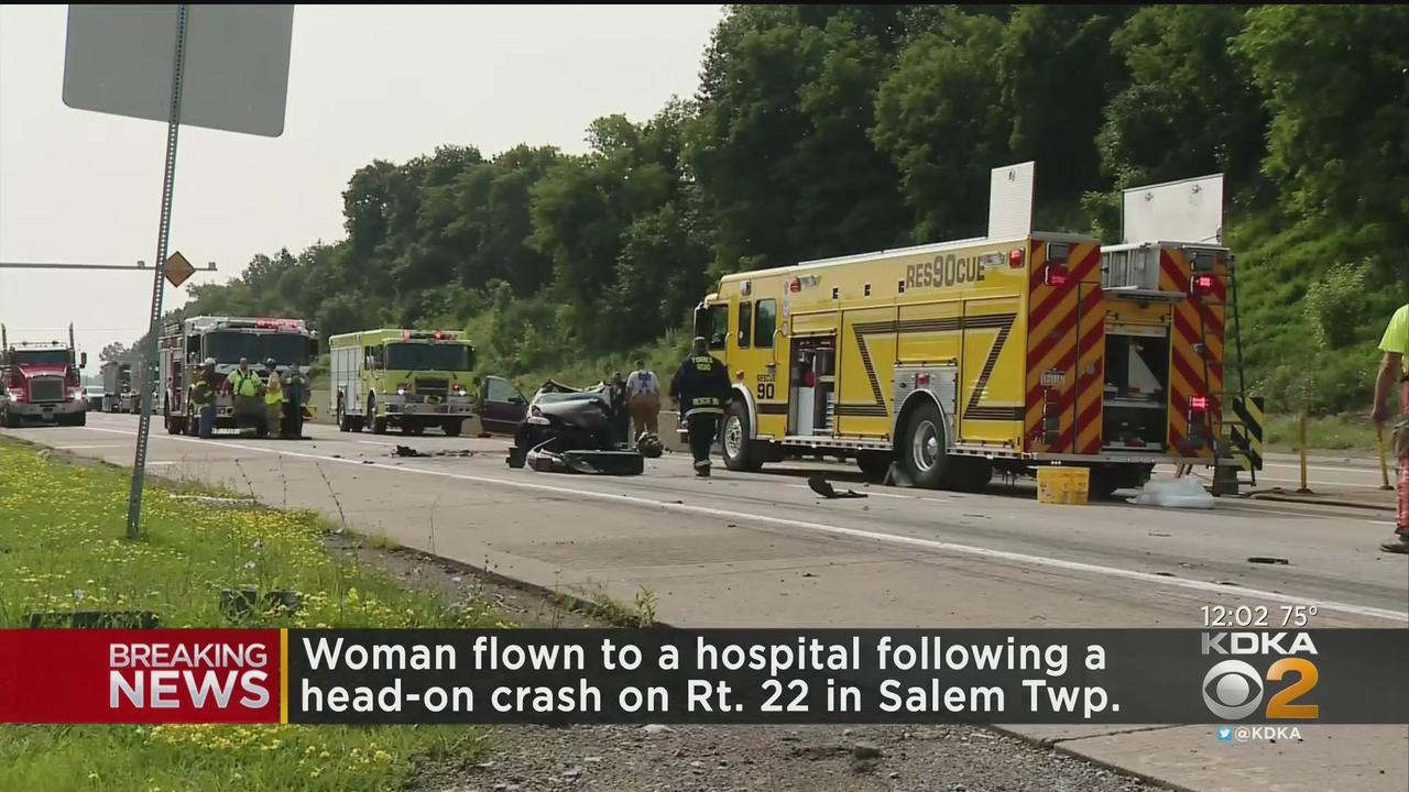 Wrong Way Driver Hits Tractor Trailer In Salem Township
