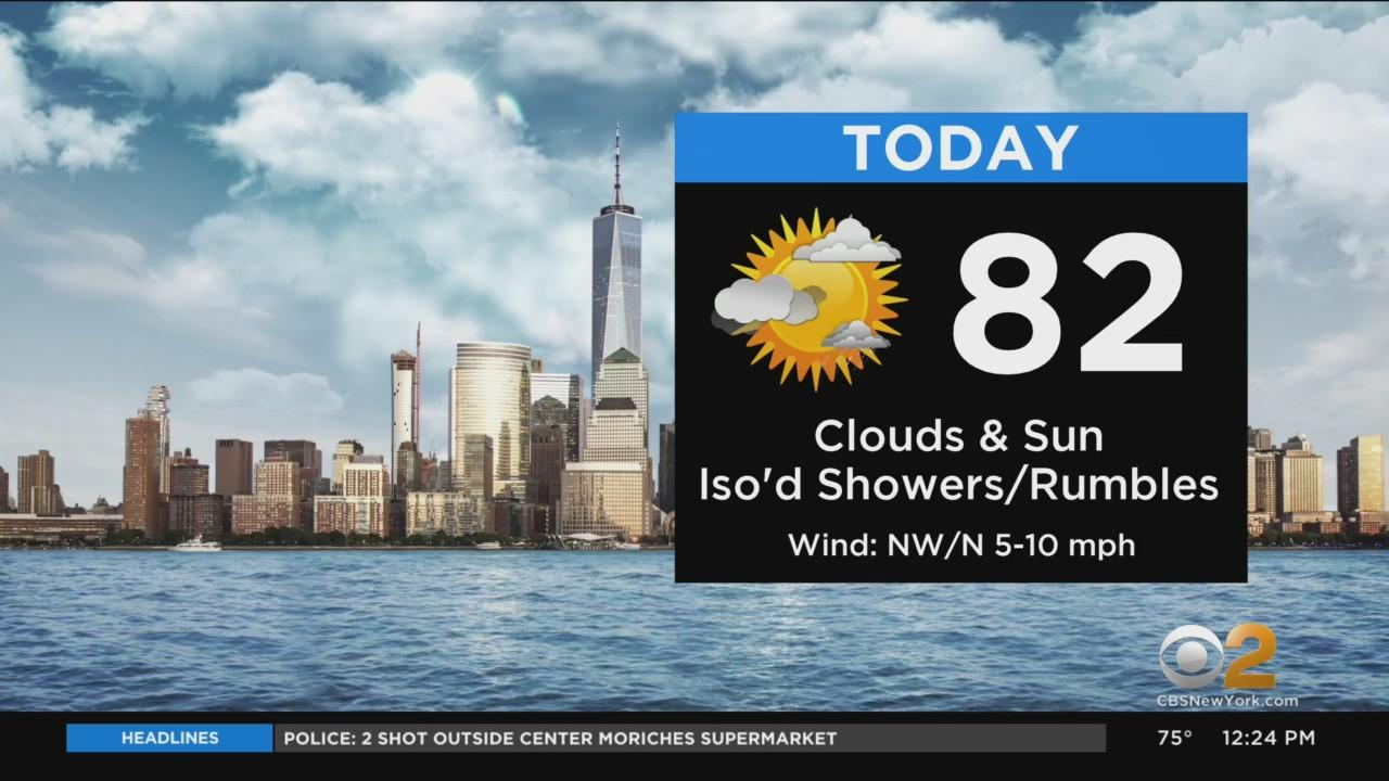 New York Weather: Another Rainy Week