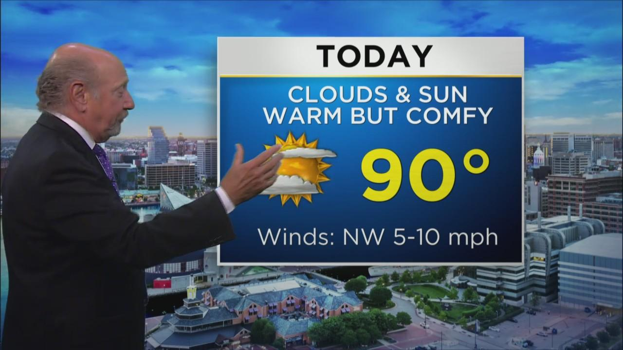 Marty Bass Has Your Monday Afternoon Weather