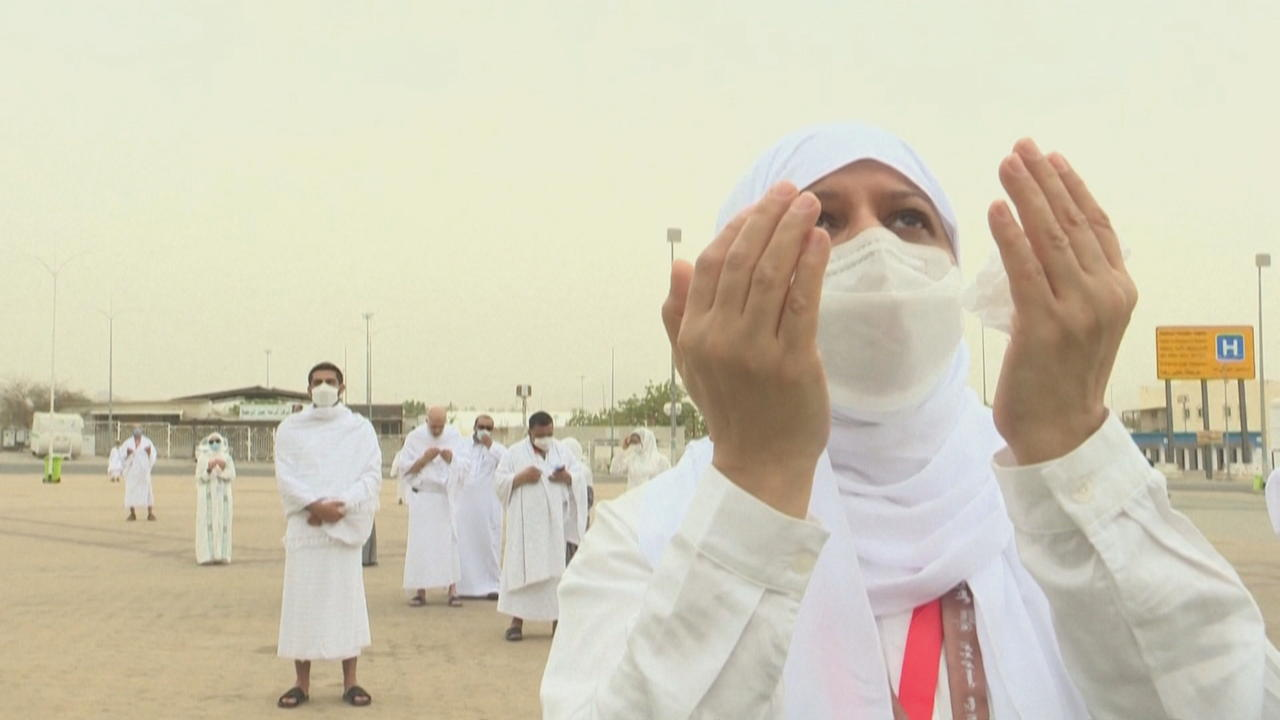 Hajj marked with low turnout due to COVID restrictions