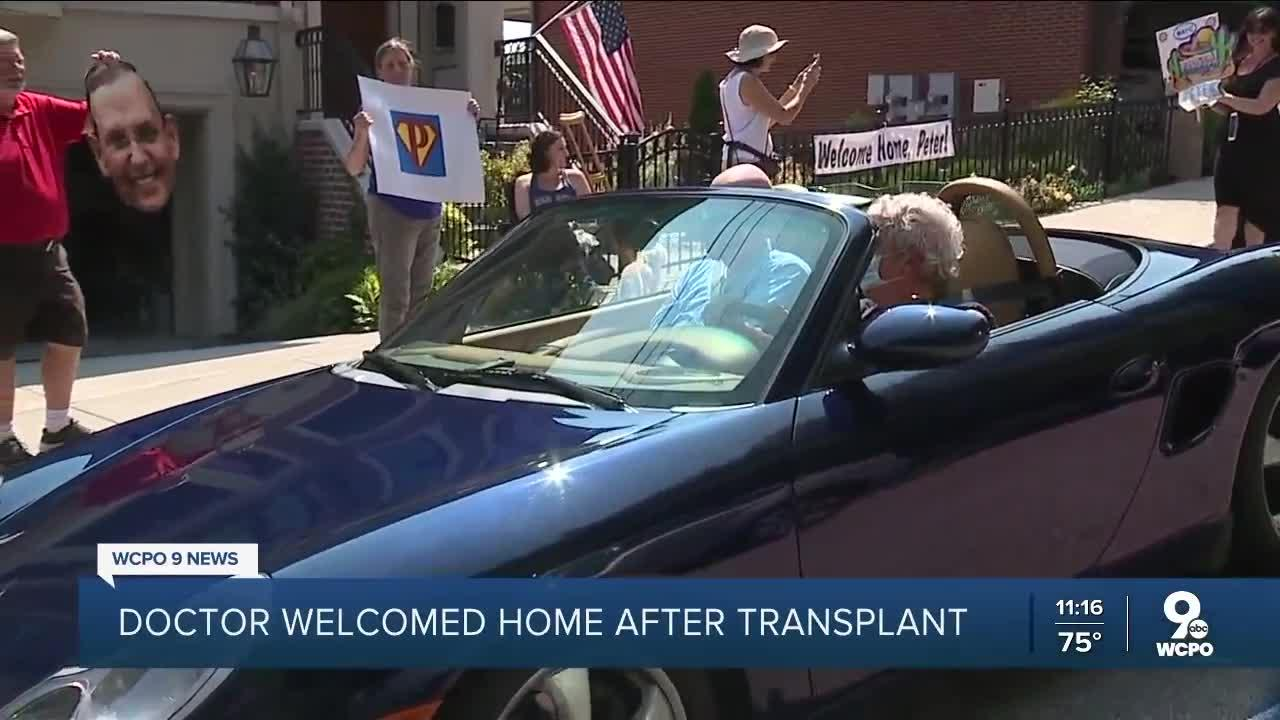 Dr. Peter Ruehlman welcomed home after risky surgery