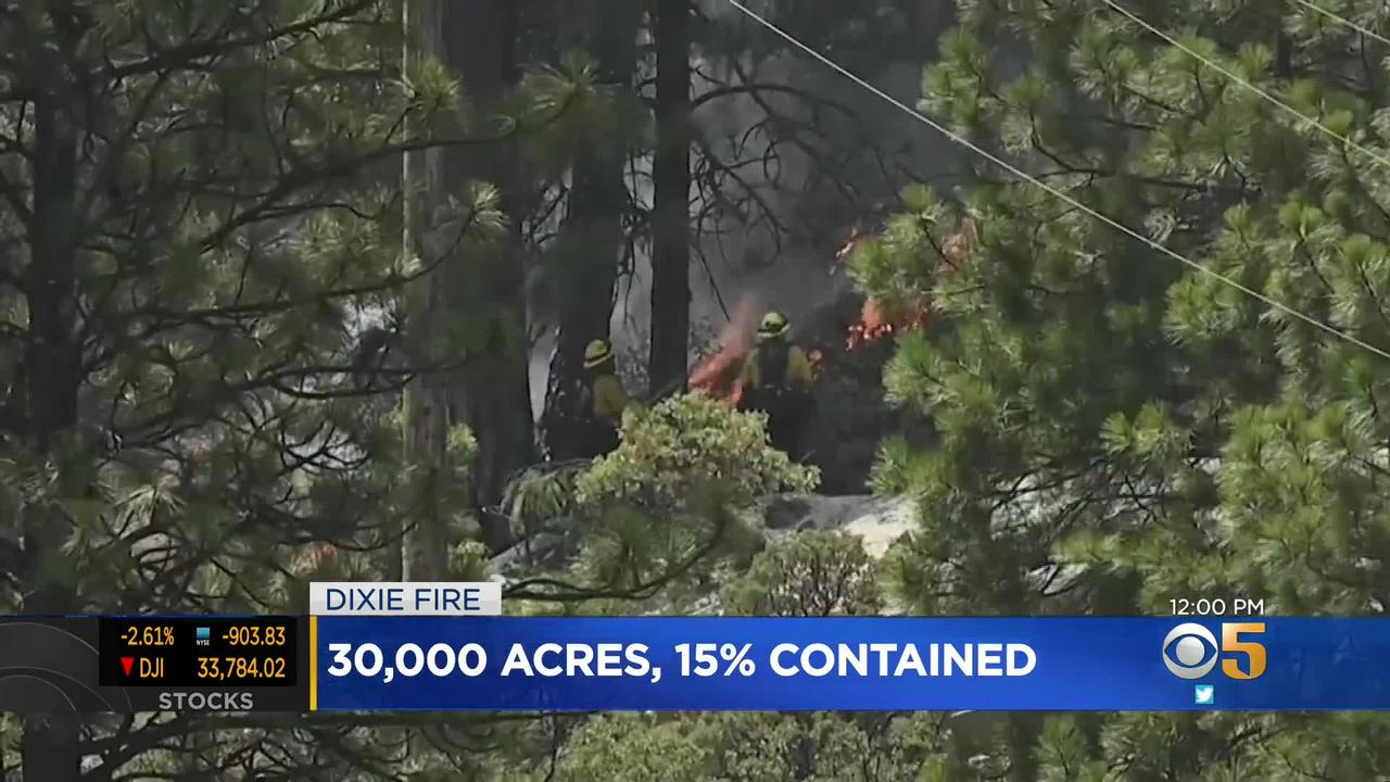 Wildfire Update: PG&E May Be Linked to Start of Dixie Fire; Lightning Strikes Recorded in Sierra