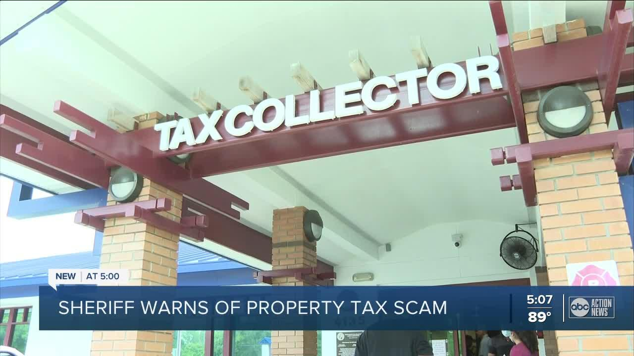 Scam targets homeowners with fake back taxes claim