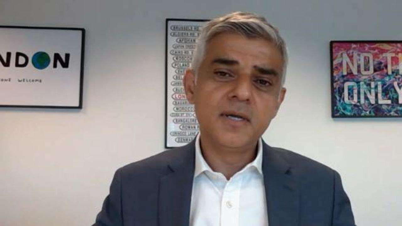 London mayor's biggest problem with eased Covid-19 restrictions