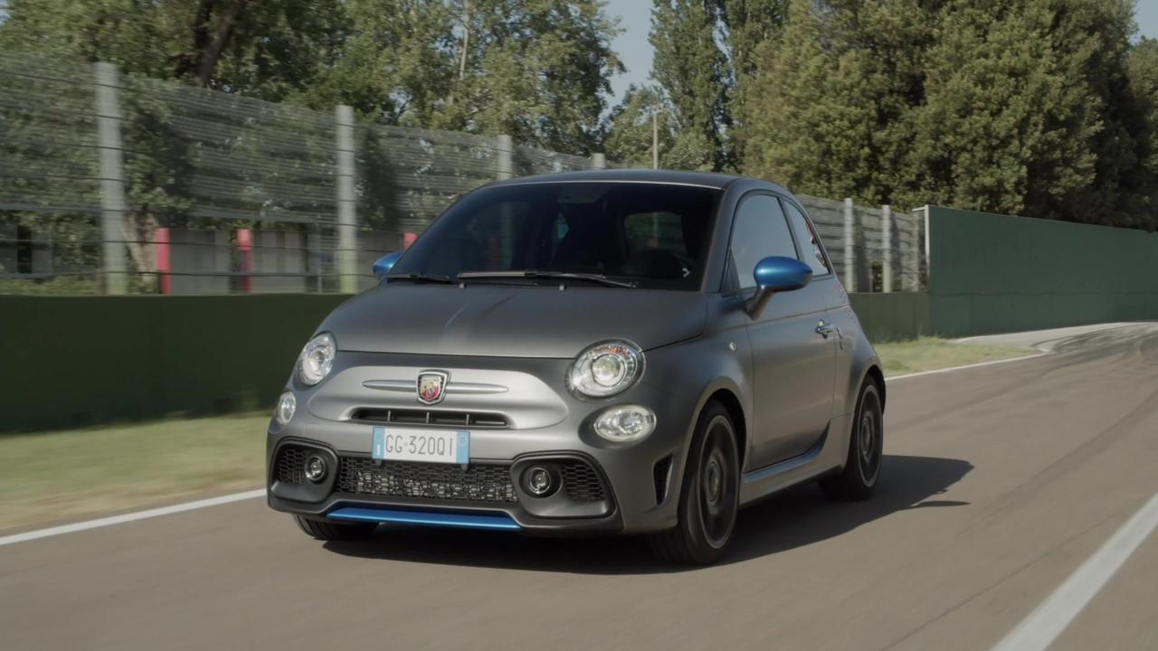 New Abarth F595@Imola Circuit Driving Video