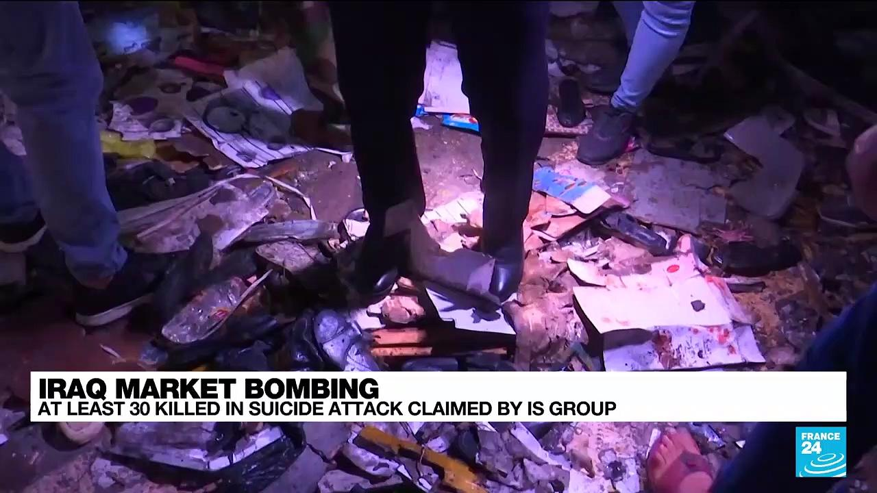 Iraq market suicide bombing claimed by IS kills nearly 30 on eve of Eid holiday