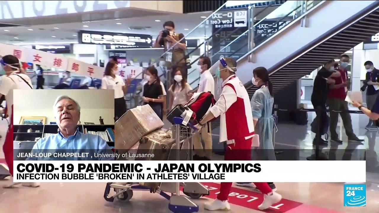 Tokyo Olympics: Athletes' village Covid-19 isolation bubble already 'broken'