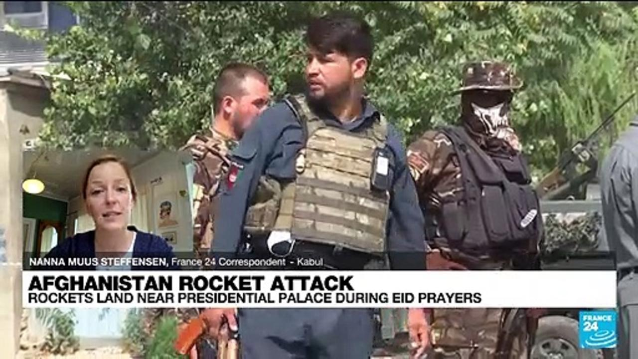 Rocket attack on Afghan capital as president performs Eid prayers