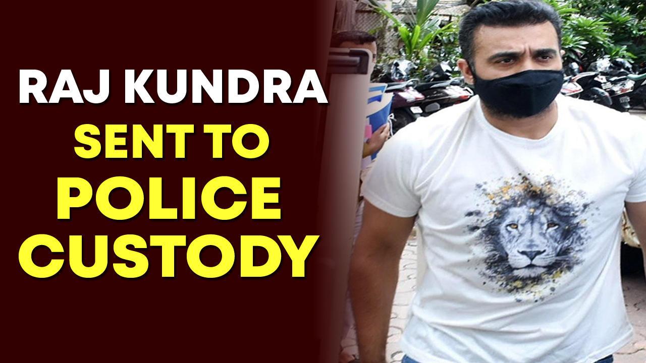 Raj Kundra sent to police custody till July 23