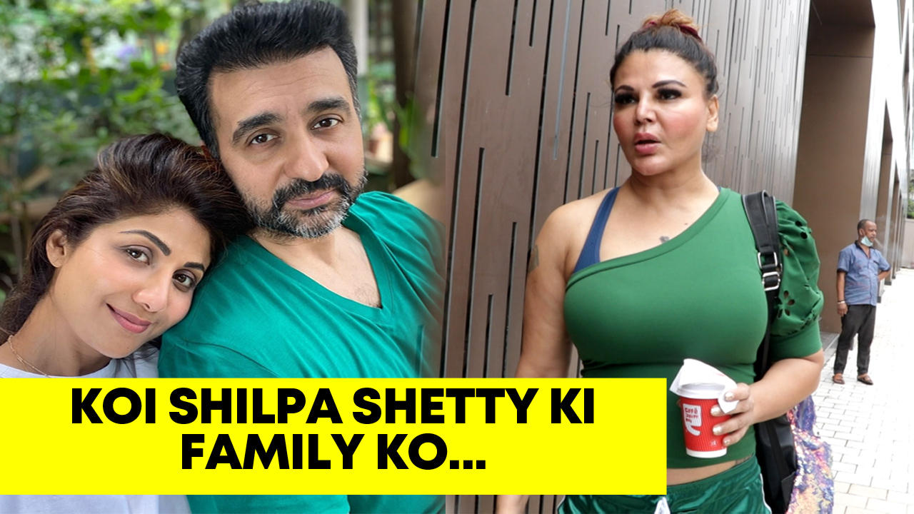 Rakhi Sawant reacts on Shilpa Shettys husband Raj Kundras arrest