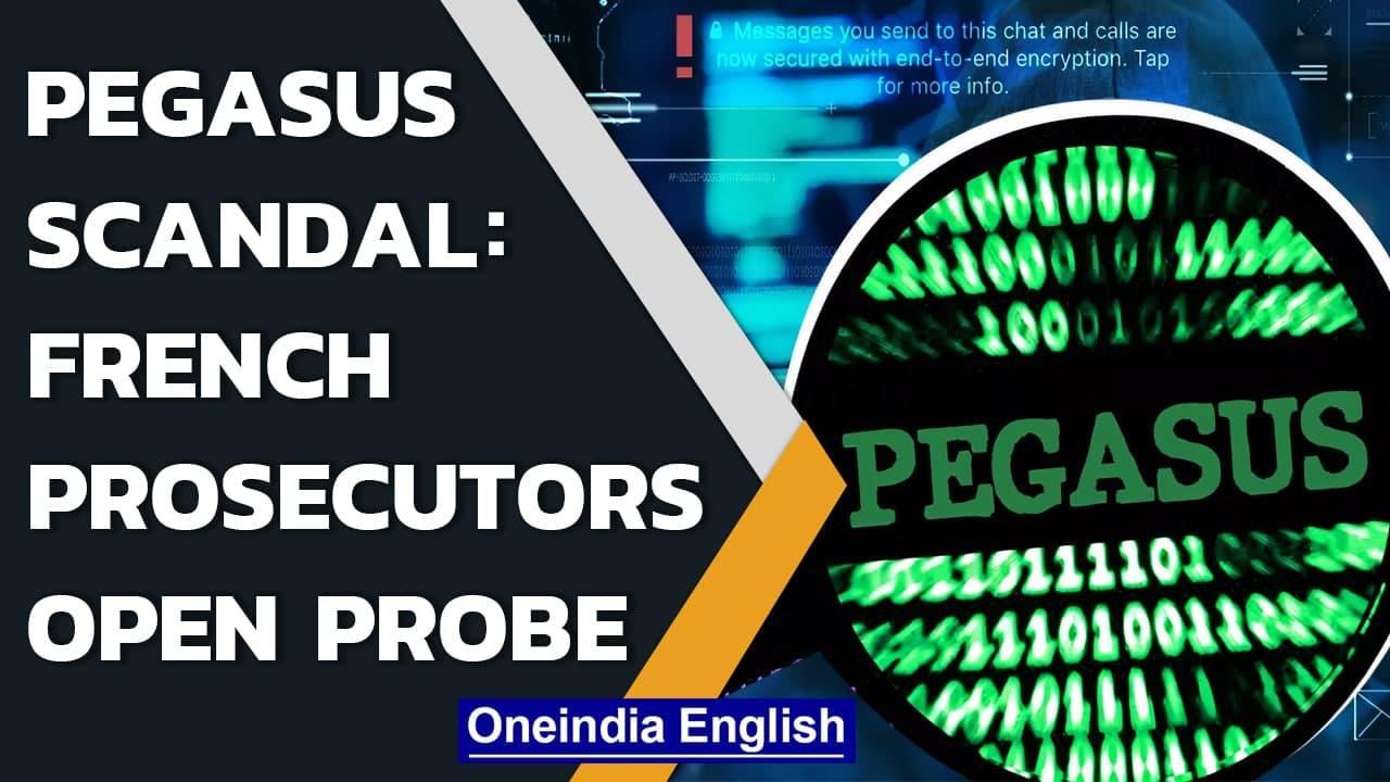 Pegasus Scandal: French prosecutors open probe into 'spying' on media  Oneindia News