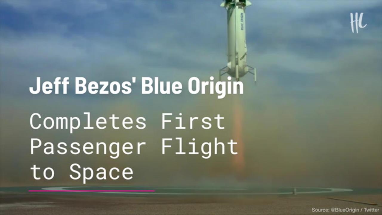 Jeff Bezos' Blue Origin Completes First Passenger Flight to Space