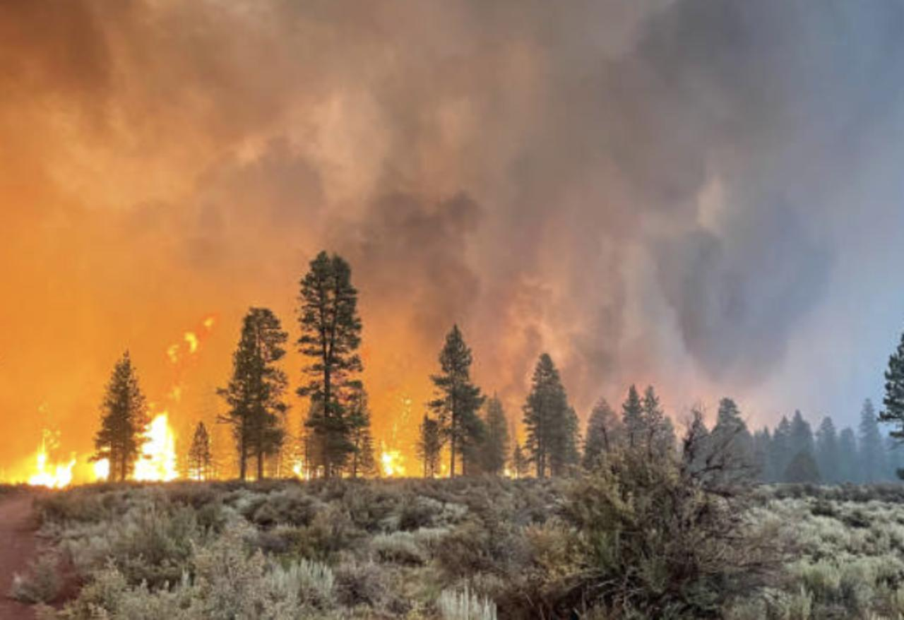Massive Bootleg Fire in Oregon Is Creating Its Own Weather