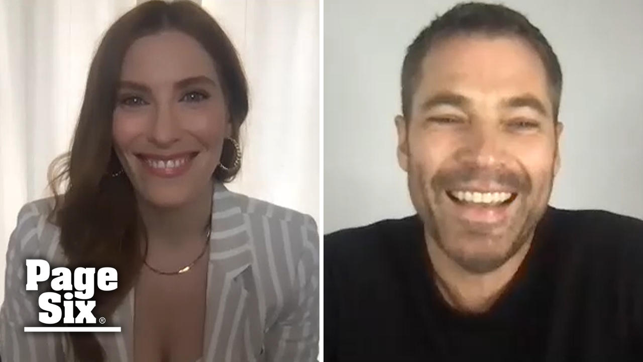 'Schitt's Creek' Stars Tim Rozon and Sarah Levy Reunite for their new series 'SurrealEstate'