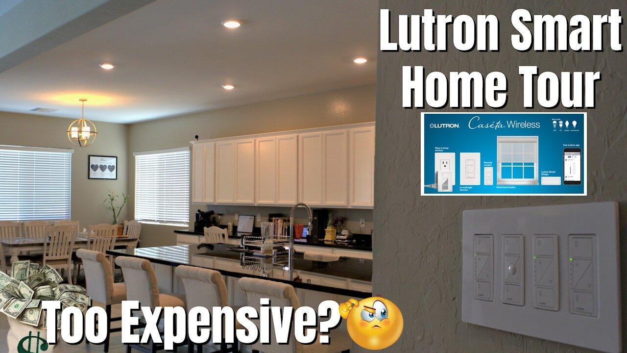 Lutron Lighting Control System   Smart Home 2021