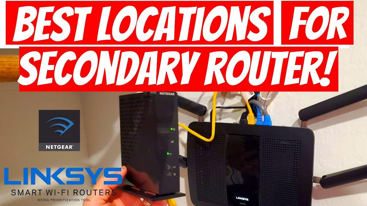 Best locations for wireless routers 2021