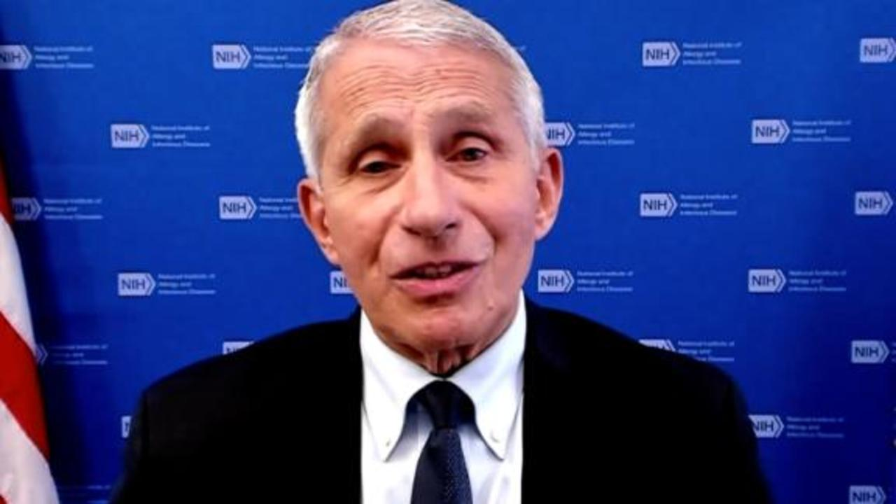 Fauci warns about 'smoldering outbreak' of Covid-19 without vaccinations