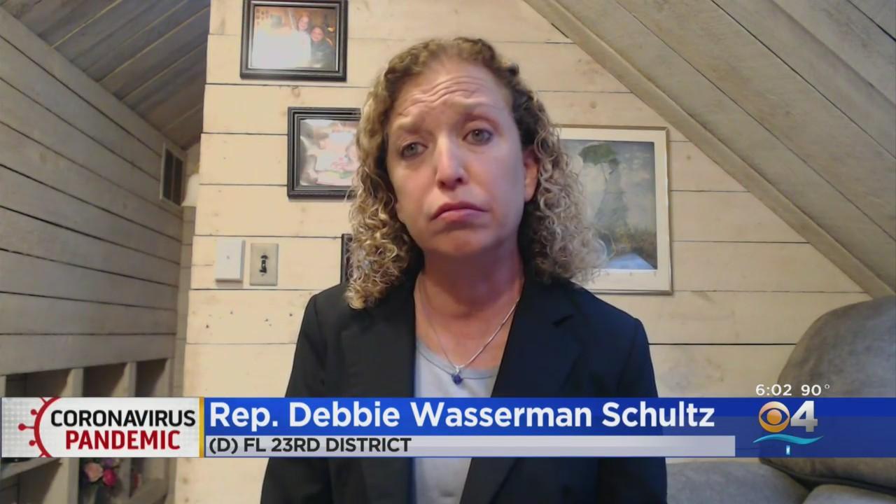 Florida Congresswoman Debbie Wasserman Schultz Blames Gov. DeSantis For State's COVID-19 Surge