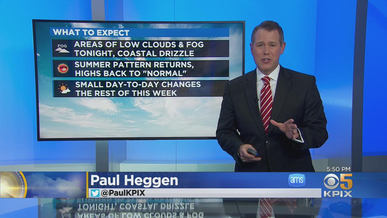 Monday Night Weather Forecast With Paul Heggen
