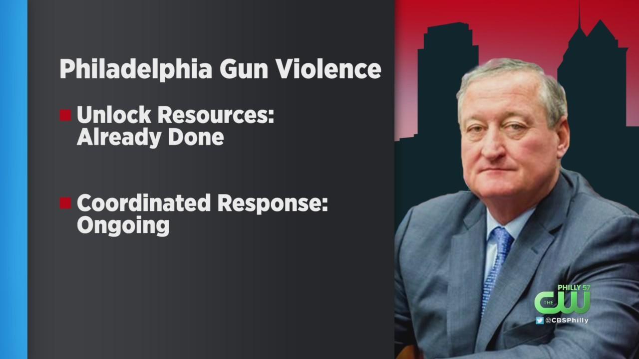 Mayor Kenney Declines To Declare Gun Emergency In Philadelphia