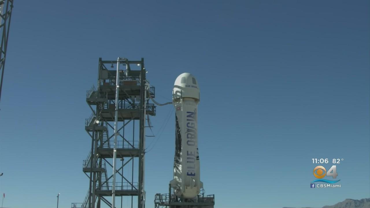 Jeff Bezos Hours Away From Making It To The Edge Of Space