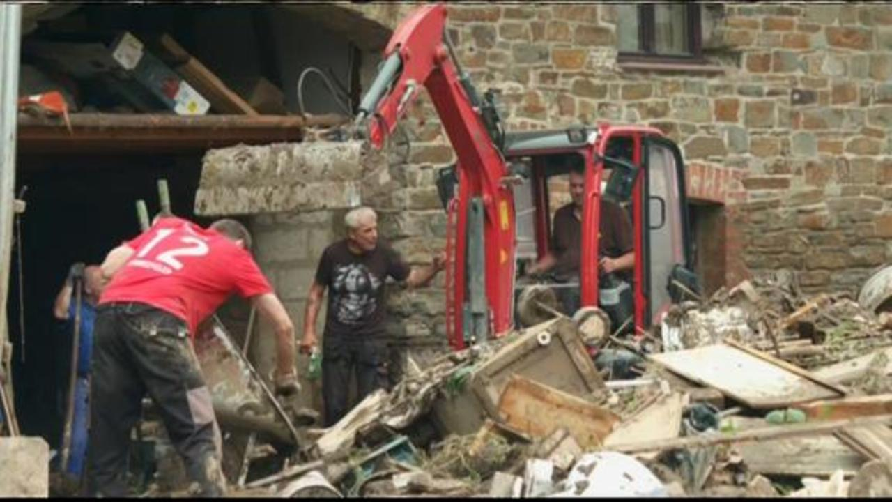 Europe floods: Scale of destruction revealed as water subsides