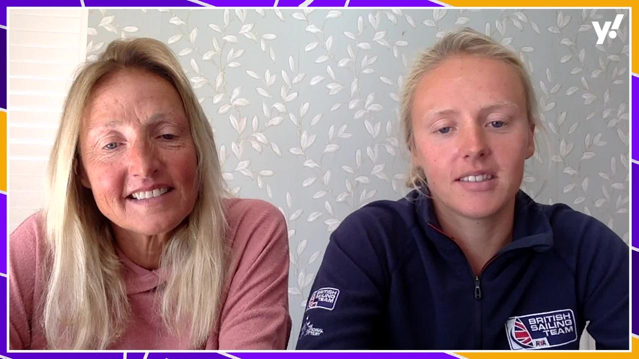 What inspired windsurfer Emma Wilson to become an Olympic athlete?