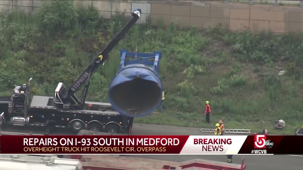 'Sounded like a bomb went off,' neighbor says of Medford bridge strike
