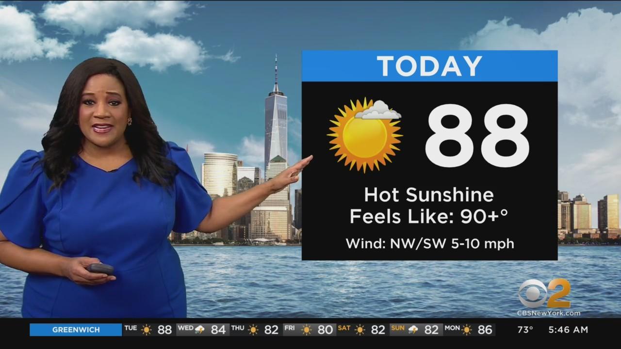 New York Weather: Heat And Humidity Return
