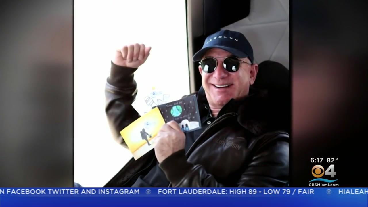 Amazon's Jeff Bezos Excited For Blue Origin Historic Lift Off