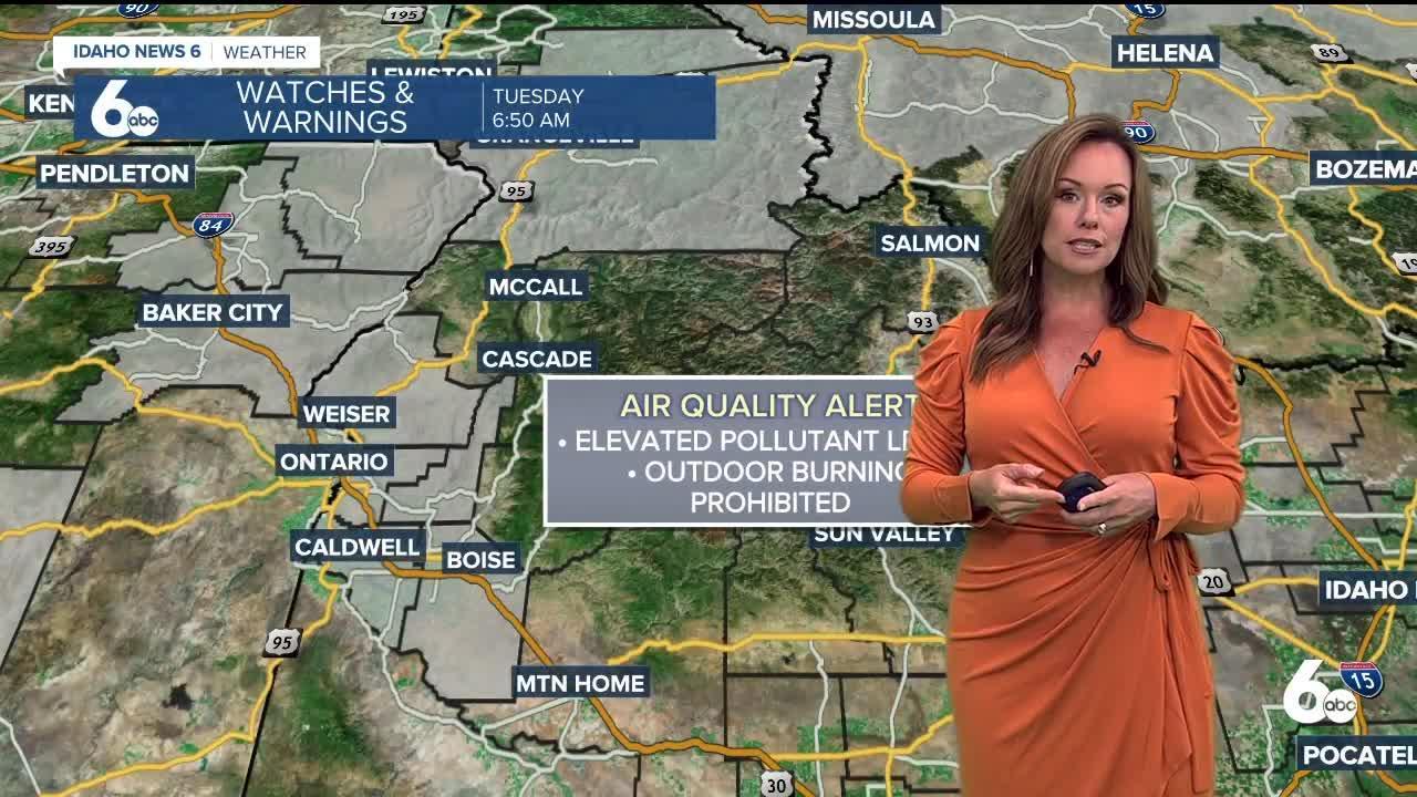 Rachel Garceau's Idaho News 6 forecast 7/20/21