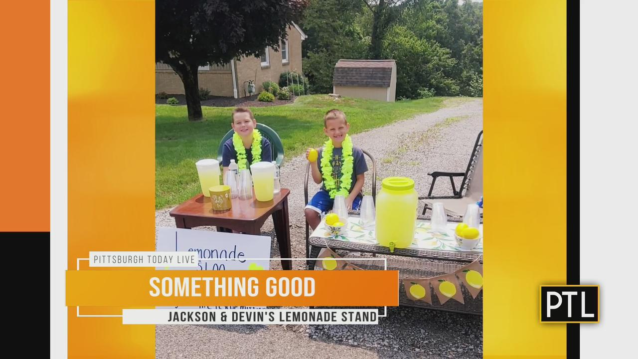 Something Good: Brothers' Lemonade Stand Raises Money For Homeless