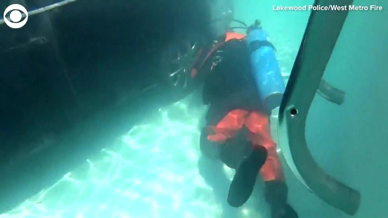 WEB EXTRA: Car Into Swimming Pool
