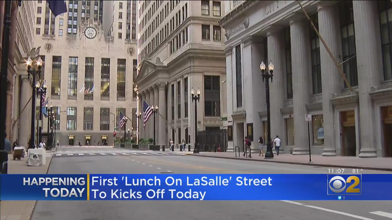 'Lunch On LaSalle' Street Open Every Tuesday Through August