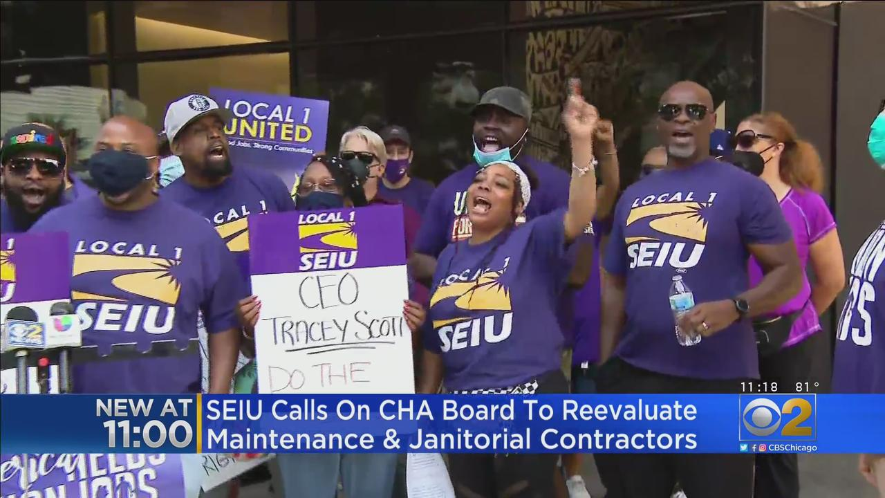 SEIU Calls On CHA Board To Reevaluate Maintenance & Janitorial Contracts